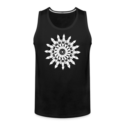 High virility mandala - Men's Premium Tank