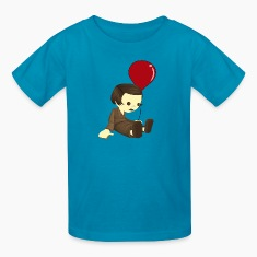 Jean et le ballon rouge Kids' Shirts