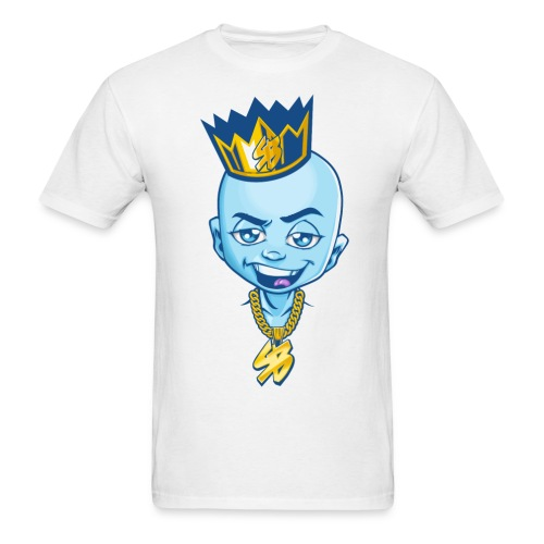Smash Block Mens Character T -Shirt - Men's T-Shirt