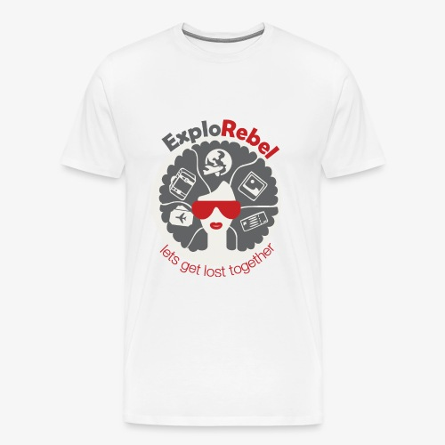 ExploRebel Men - Men's Premium T-Shirt