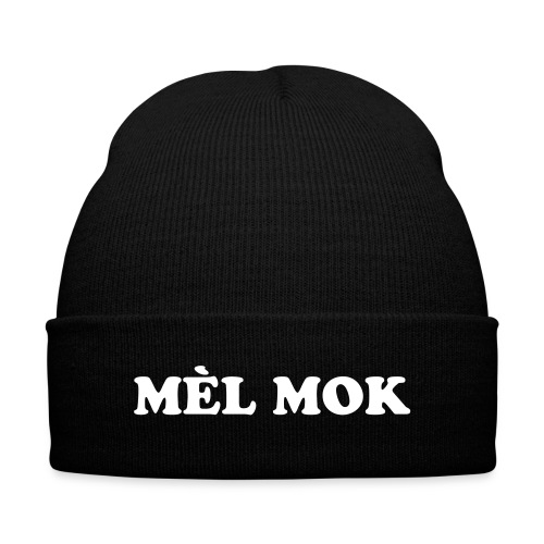 MèL Mok - Knit Cap with Cuff Print