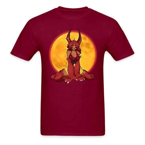 Dark Cherry Chino Guy's Tee - Men's T-Shirt