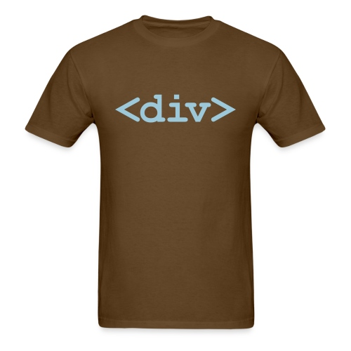 Put Yourself in a DIV Box - Men's T-Shirt