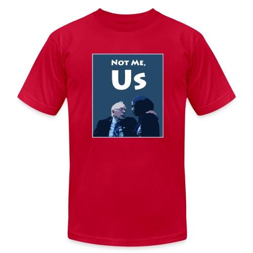 Not Me, Us - Men's Fine Jersey T-Shirt
