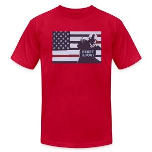 Heart & Soul - Men's Fine Jersey T-Shirt