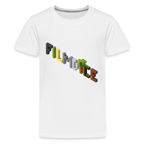 FilmDice 'BLOCKS' Kids Shirt - Kids' Premium T-Shirt