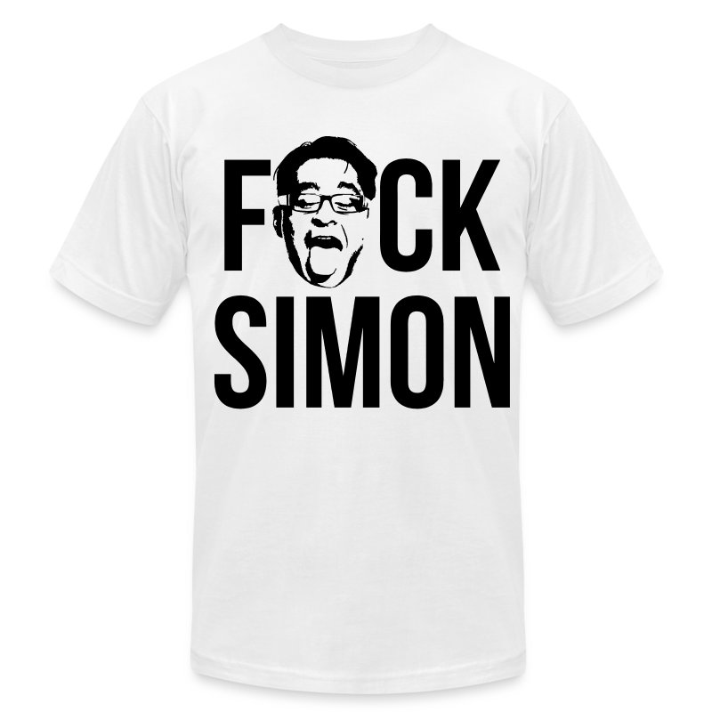 F#CK SIMON - Men's T-Shirt by American Apparel