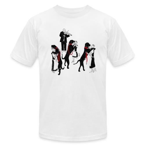 Dance the dog (women+dogs) - Men's Fine Jersey T-Shirt