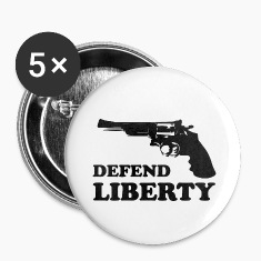 Defend liberty Buttons