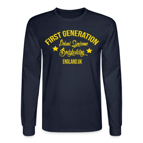 LONG SLEEVE FIRST GENERATION - Men's Long Sleeve T-Shirt