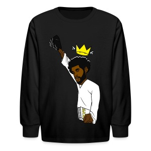 Kid King long sleve - Kids' Long Sleeve T-Shirt