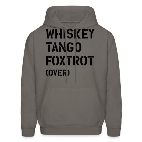 Whiskey Tango Foxtrot - Men's Hoodie
