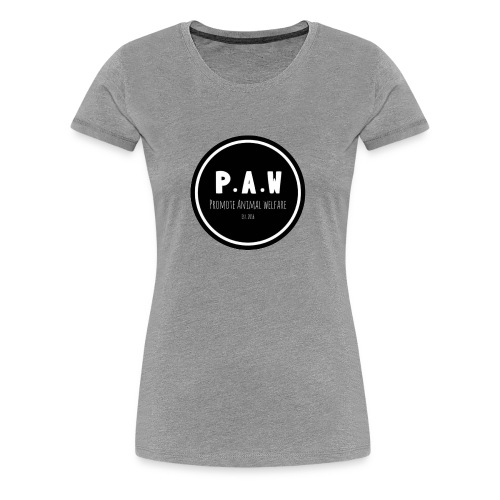 P.A.W Women's T-Shirt  - Women's Premium T-Shirt