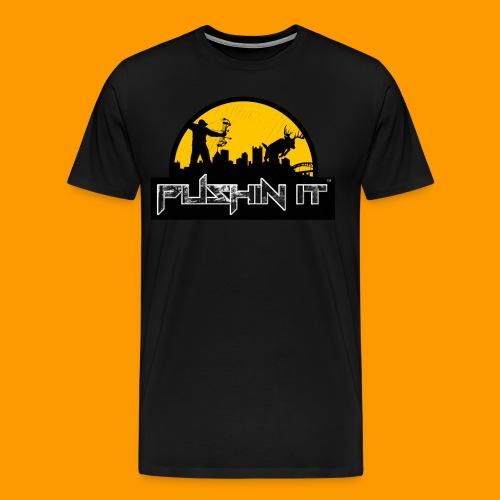 Distressed Logo mens Tee - Men's Premium T-Shirt