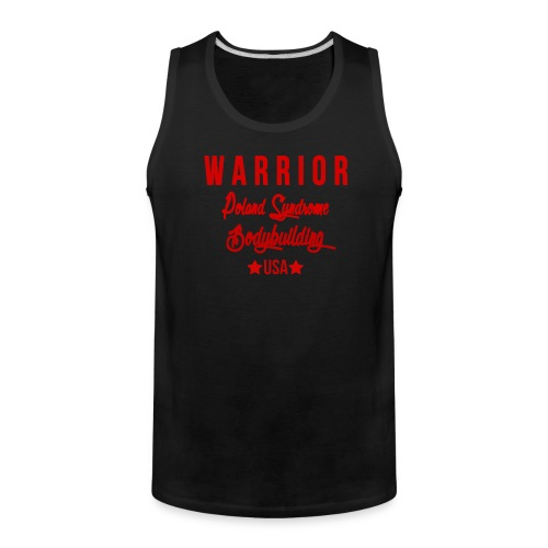 MENS MUSCLE TOP WARRIOR - Men's Premium Tank