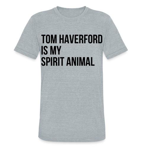 Tom Haverford Spirit Animal - Unisex Tri-Blend T-Shirt
