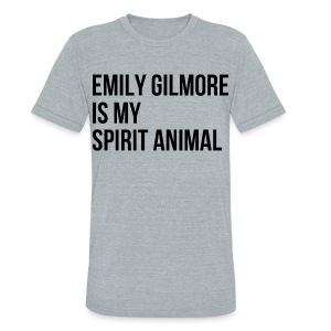 Emily Gilmore Spirit Animal - Unisex Tri-Blend T-Shirt