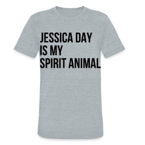 Jessica Day Spirit Animal - Unisex Tri-Blend T-Shirt