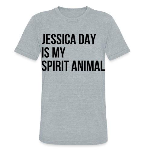 Jessica Day Spirit Animal - Unisex Tri-Blend T-Shirt