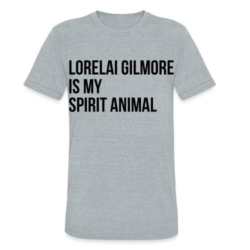 Lorelai Gilmore Spirit Animal - Unisex Tri-Blend T-Shirt