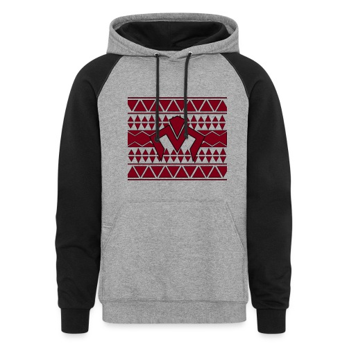 Aztec Them Logo  - Colorblock Hoodie