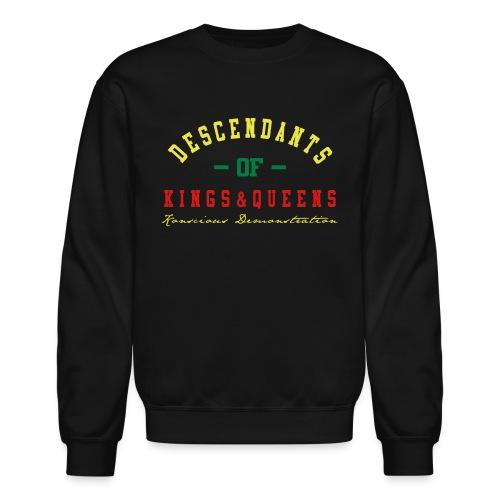 Descendants Of King & Queens (Crew Neck Sweater) - Crewneck Sweatshirt