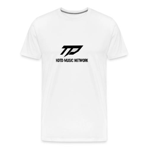 TD Music Network T-Shirt (White) - Men's Premium T-Shirt