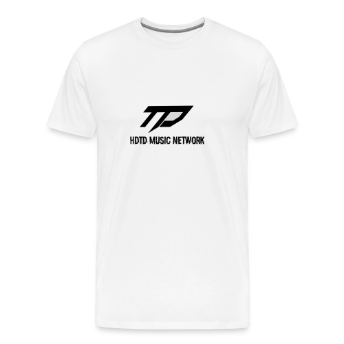 TD Music Network T-Shirt (White) - Men's Premium T-Shirt