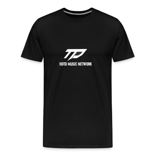 TD Music Network T-Shirt (Black) - Men's Premium T-Shirt