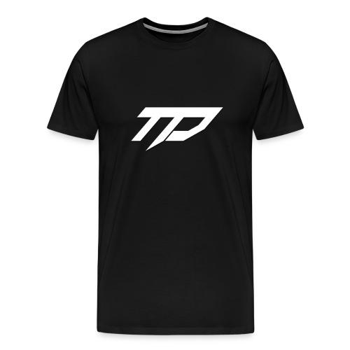Standard TD T-Shirt (Black) - Men's Premium T-Shirt