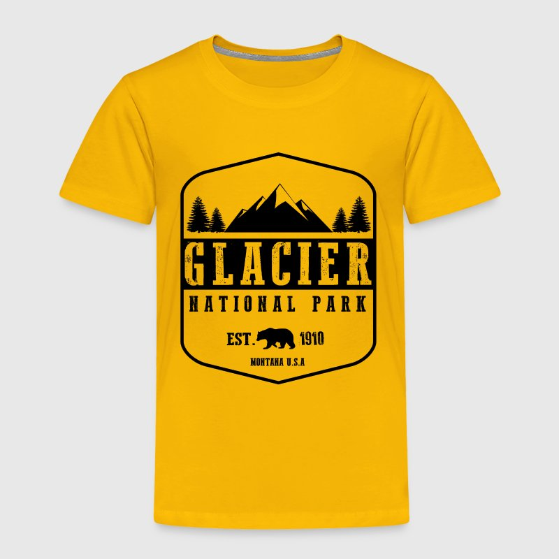 Glacier National Park Baby & Toddler Shirts - Toddler Premium T-Shirt