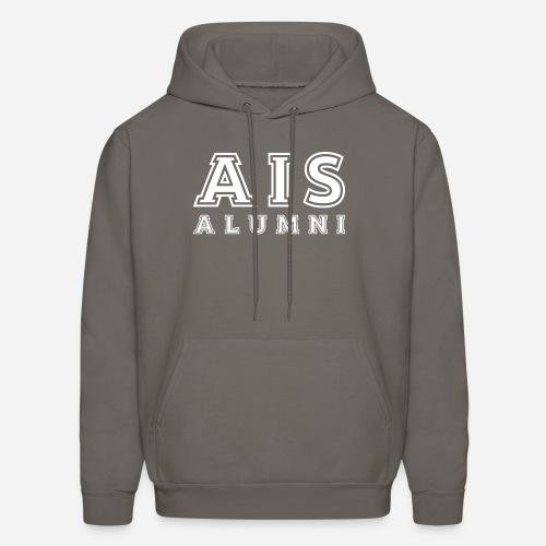 AIS Alumni College Hoodie 2 - Ash Grey - Men's Hoodie