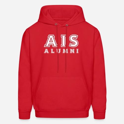 AIS Alumni College Hoodie 2 - Red - Men's Hoodie