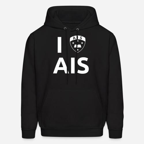 I Crest AIS Hoodie - Black - Men's Hoodie