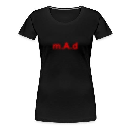 m.A.d & Logo (women) - Women's Premium T-Shirt