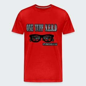 Up to 5XL- One Tuff Nerd - Men's Premium T-Shirt