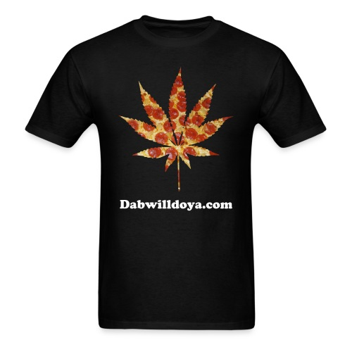 Pizza Weed - Men's T-Shirt