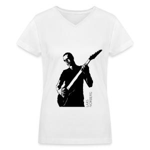 Women's V-Neck T-Shirt by LAT Apparel - Women's V-Neck T-Shirt
