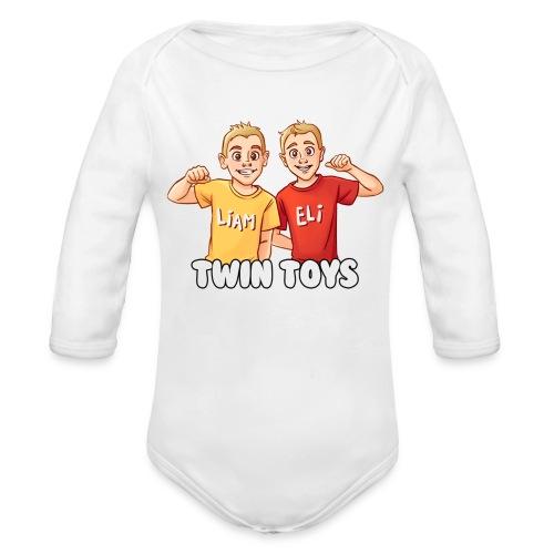 Twin Toys - Baby Long Sleeve One Piece - Organic Long Sleeve Baby Bodysuit
