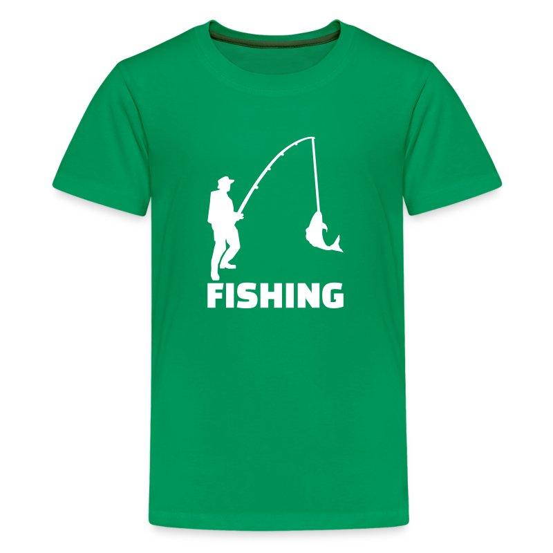 Fishing t shirt spreadshirt for Toddler fishing shirts