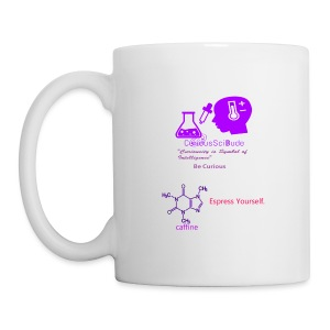 CuriousSciCup - Coffee/Tea Mug