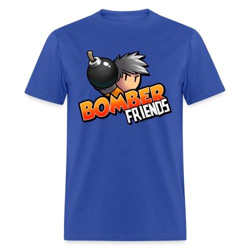 Premium Bomber Friends t-shirt for men - Men's T-Shirt
