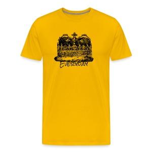 Everyday Kiing - Men's Premium T-Shirt