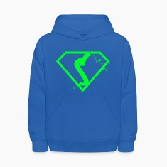 blue and green Prize hoodie!!