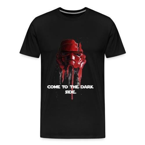 Star wars red storm trooper - Men's Premium T-Shirt