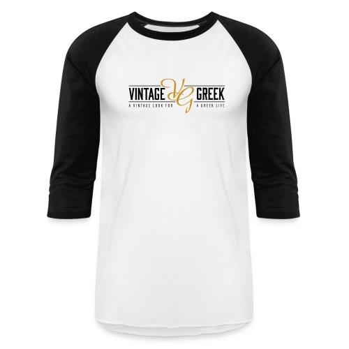 VG White Baseball Tee - Baseball T-Shirt