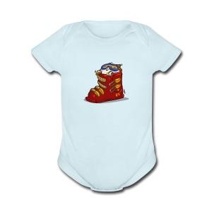 Skicat — Friday Cat №41 - Short Sleeve Baby Bodysuit