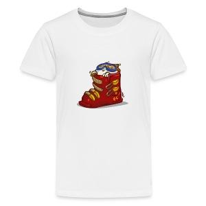 Skicat — Friday Cat №41 - Kids' Premium T-Shirt