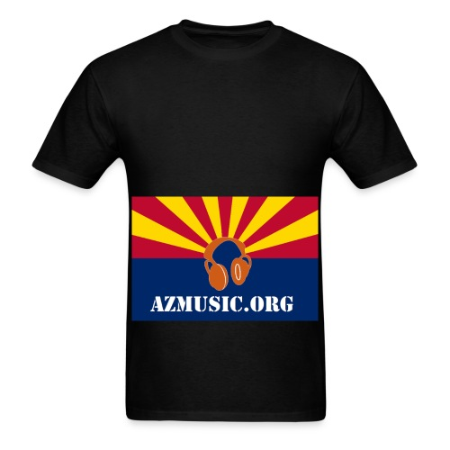 Bearded man's AzMusic T-Shirt - Men's T-Shirt