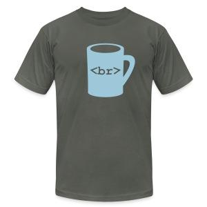 Coffee Break - Men's Fine Jersey T-Shirt